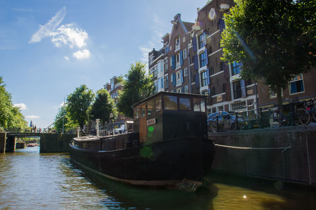 Amsterdam Canals Amsterdam Amsterdam Canal Amsterdam Centraal Amsterdam.nl Amsterdamcity Amsterdamlife Amsterdamse Grachten Boat Boats Building Canal Canalcruise Canalmotorboats Canals Cmb Green Holland Netherlands Summer Summertime Water Water Reflections Water_collection Waterfront