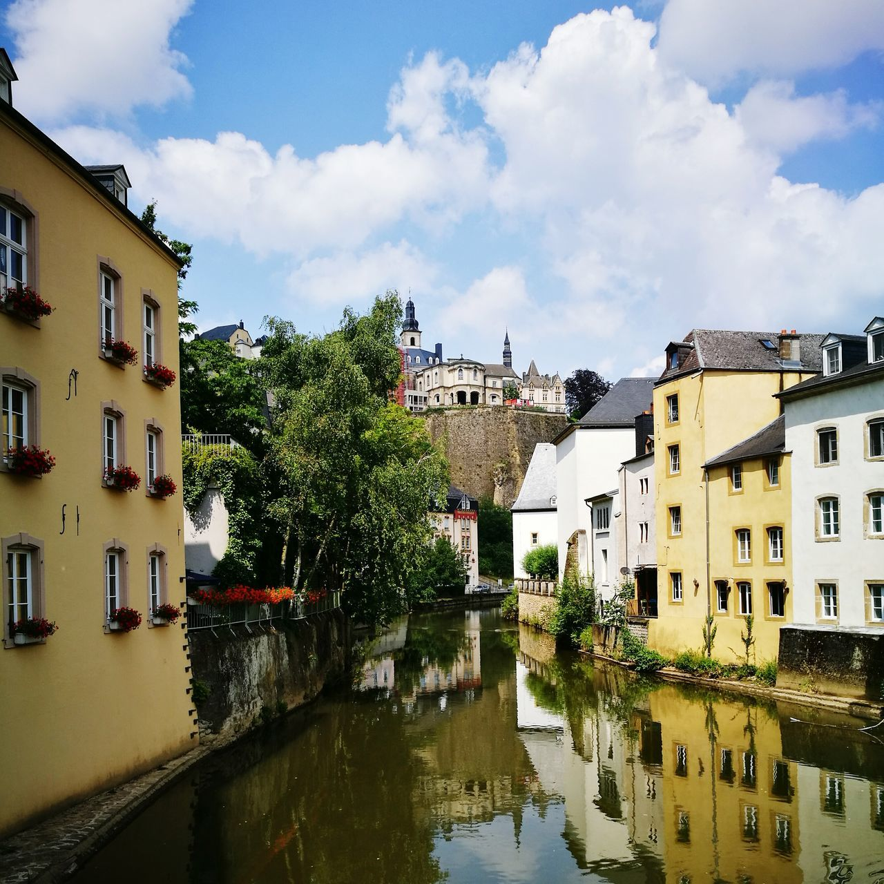 Beautiful stock photos of luxemburg,  Architecture,  Building Exterior,  Built Structure,  Cloud - Sky