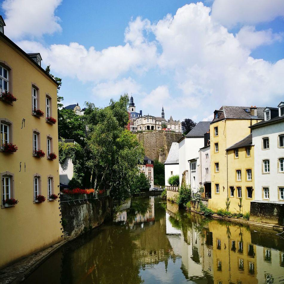 Beautiful stock photos of luxemburg,  Architecture,  Building Exterior,  Built Structure,  Cloud - Sky