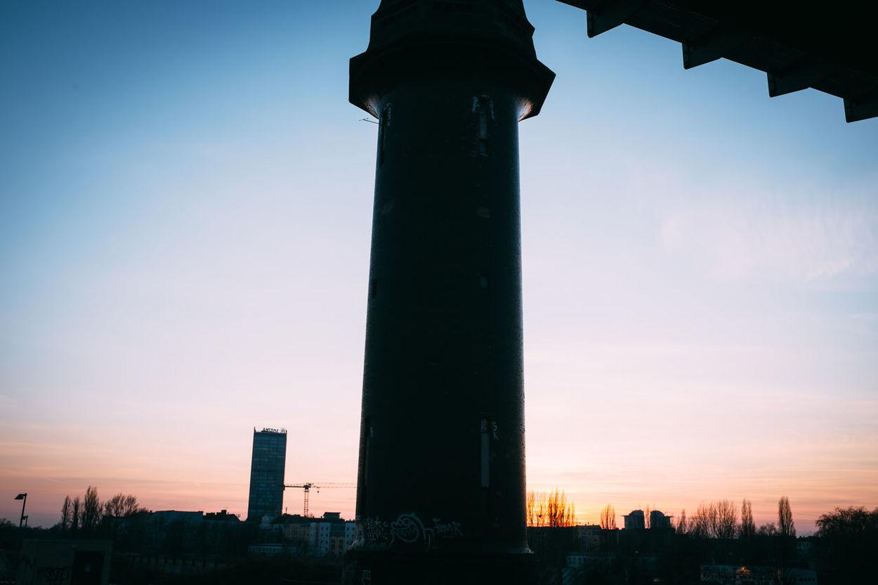 Architecture Berlin Ostkreuz Light Ostkreuz Outdoors Tower Wasserturm