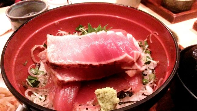 Japan Japanese Food Dericious Taking Photos 表参道 たかの家 Pink Fishfis Tokyo Lunch