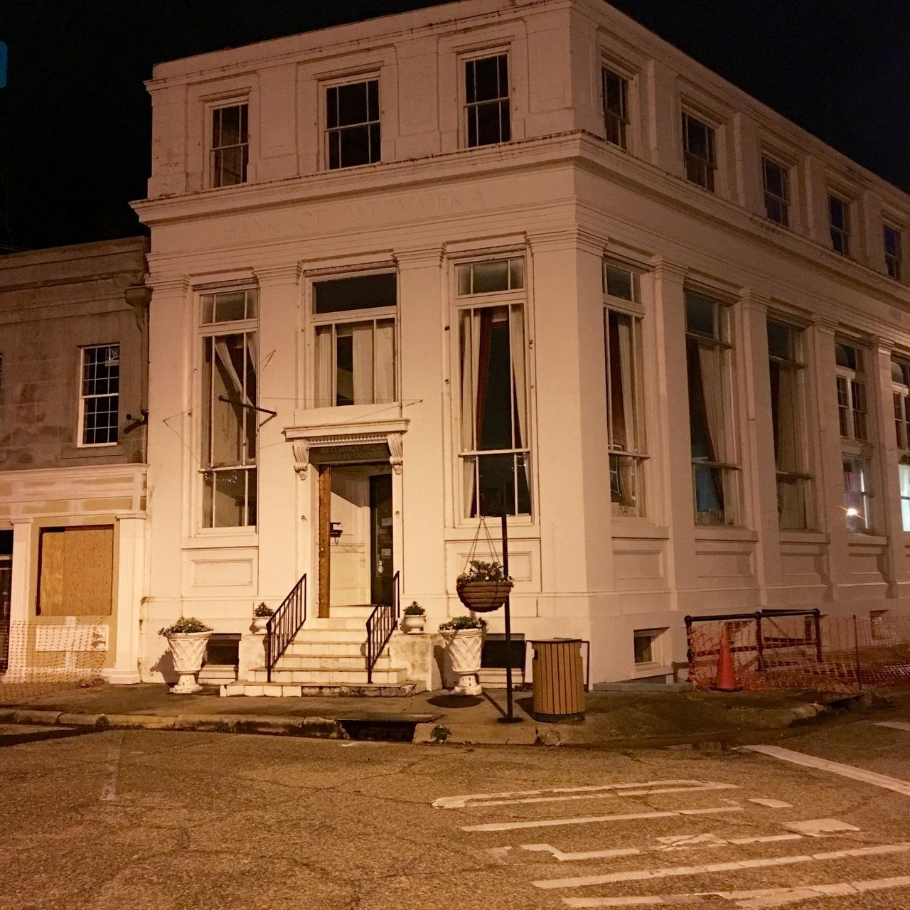 An old bank being repurposed in downtown Wetumpka. Old Buildings