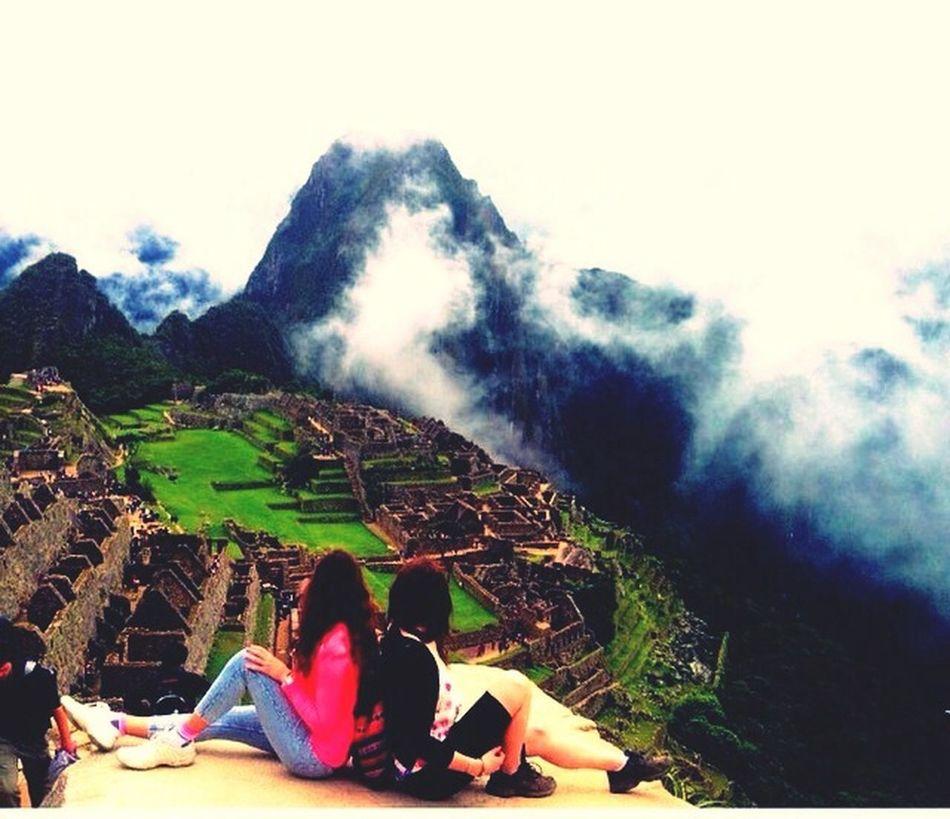 Amazing day at Machupicchu Wonderoftheworld Machu Picchu Peru NeverForget