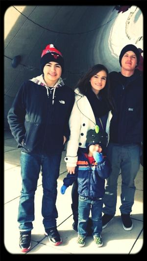 the 3 most amazing guys In my life my little brother my big brother and my nephew ♥