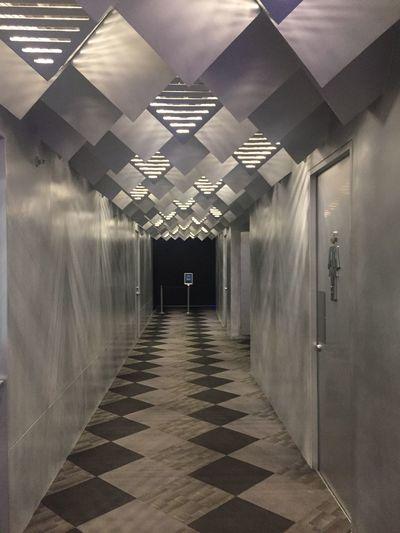 The Way Forward Indoors  Architecture Illuminated Built Structure No People Passage Day Cinema Smcinema Jaysalvarez Photography