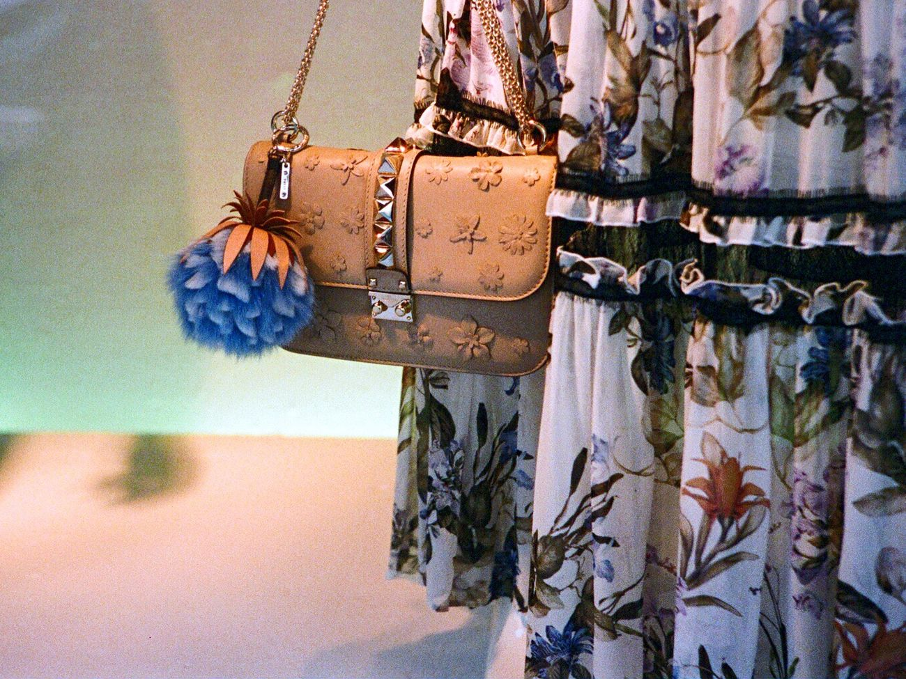 Bag Film Leica M6 Store Window Koduckgirl F2/400 Saks Fifth Ave Mannequin Fashion