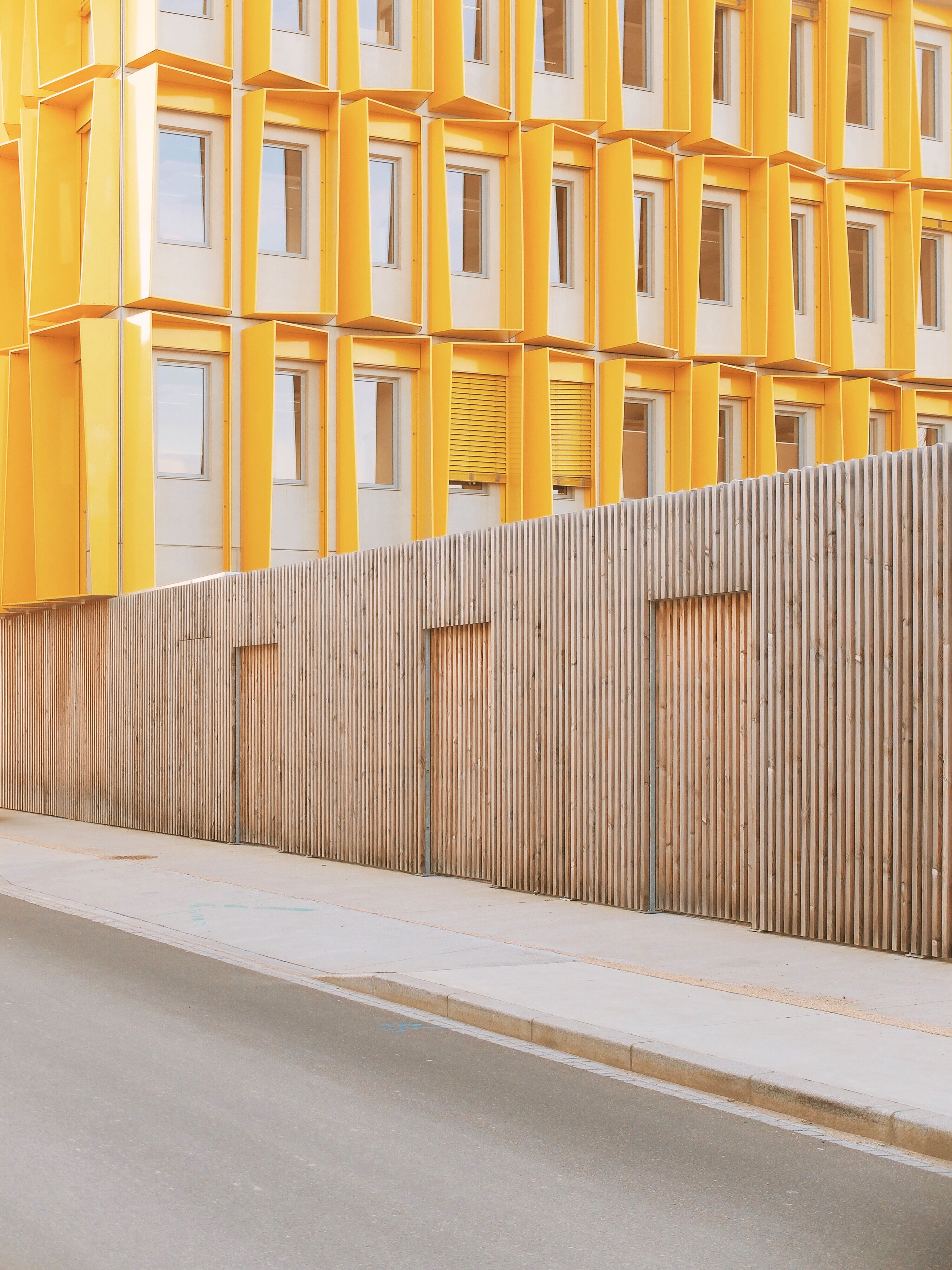 built structure, architecture, building exterior, yellow, no people, outdoors, day