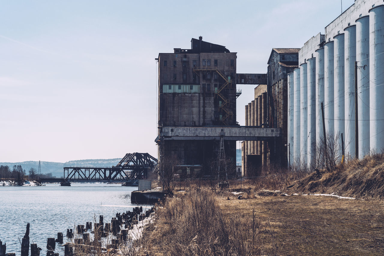 Bridge Deterioration Grain Elevator Kam Park Lake Lake Superior Landscape Old Thunder Bay Market Reviewers' Top Picks