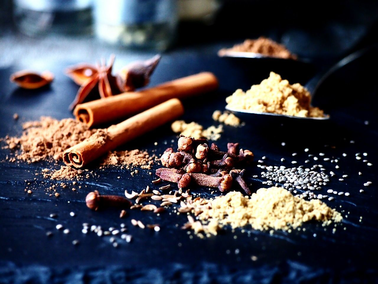 Close-up Food Art Simplicity Food Styling Table My Point Of View Foodgasm Spice Focus On Foreground Spices Nature Food Photography