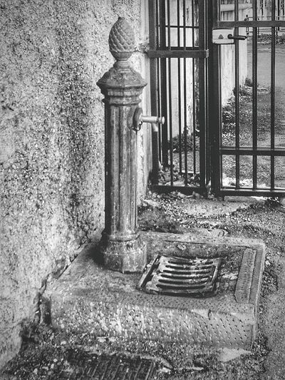"""""""Fontanella"""". Our energy drink along never ending football matches and hide & seek sessions. Bianco E Nero Black And White Eyeemfilter / Point And Shoot / My Neighborhood Street Photography Italy Fontanella Standpipe Standpipe Portrait B&w Photography My Childhood"""