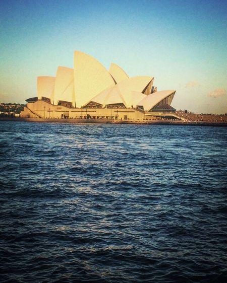 Opera House Yesterday SDYNEY SDYNEY TODAY
