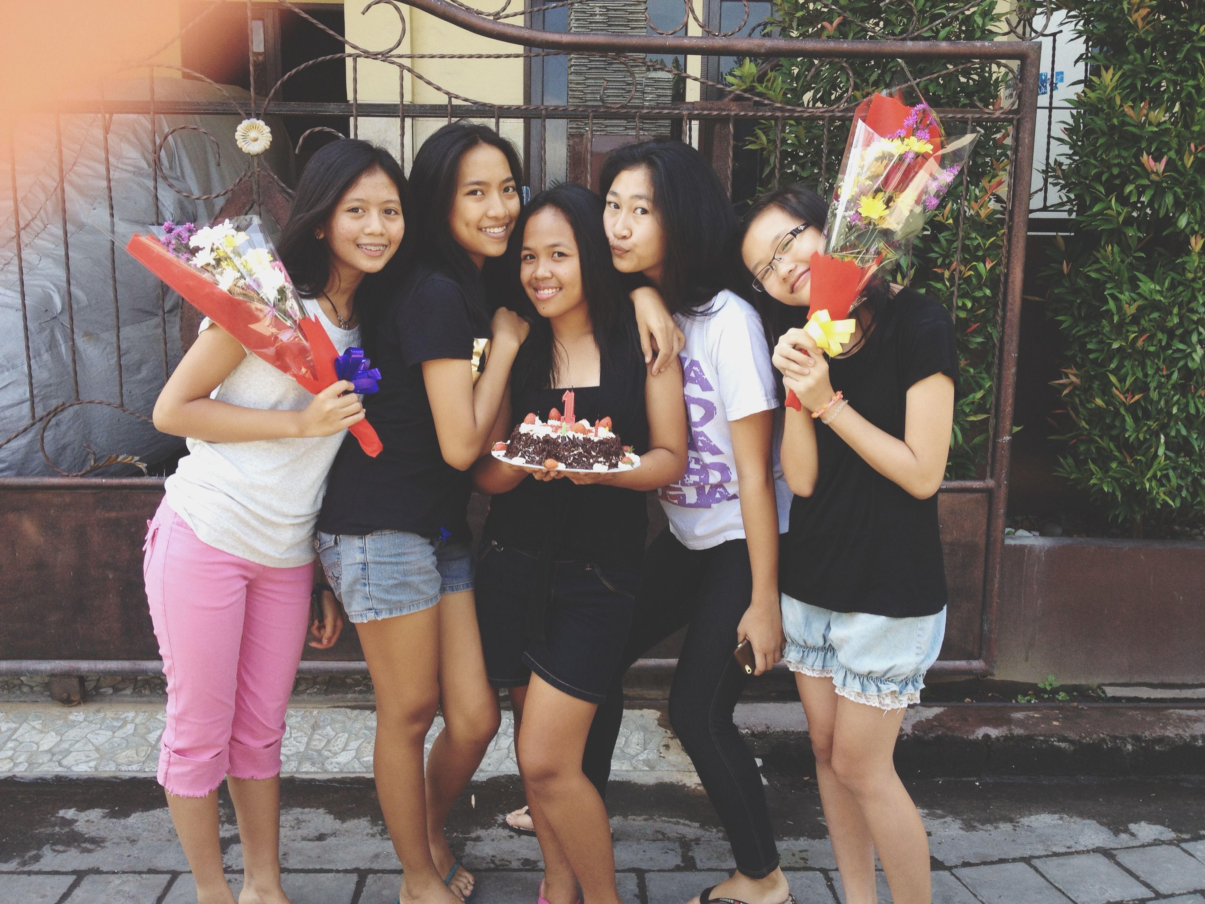 Happy 15th birthday my friends! Happy Birthday! Birthday Birthday Cake Flowers EyeEm