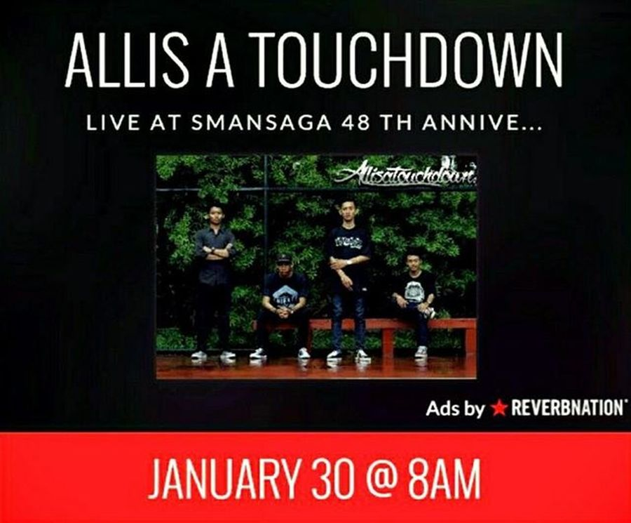 Tomorrow, live at Smansaga 48 Th Anniversary, we will burn with the sun, so dont miss it guys! 😤😠😎🍺 Aatd Aatdmusic Allisatouchdown Indomusikgram Indovidgram IndieMusic Instamusic Igerssmayk Music Punk Pshycobilly Indonesiamusic Yogyakarta Smansaga48th Smg48th Smansagayk
