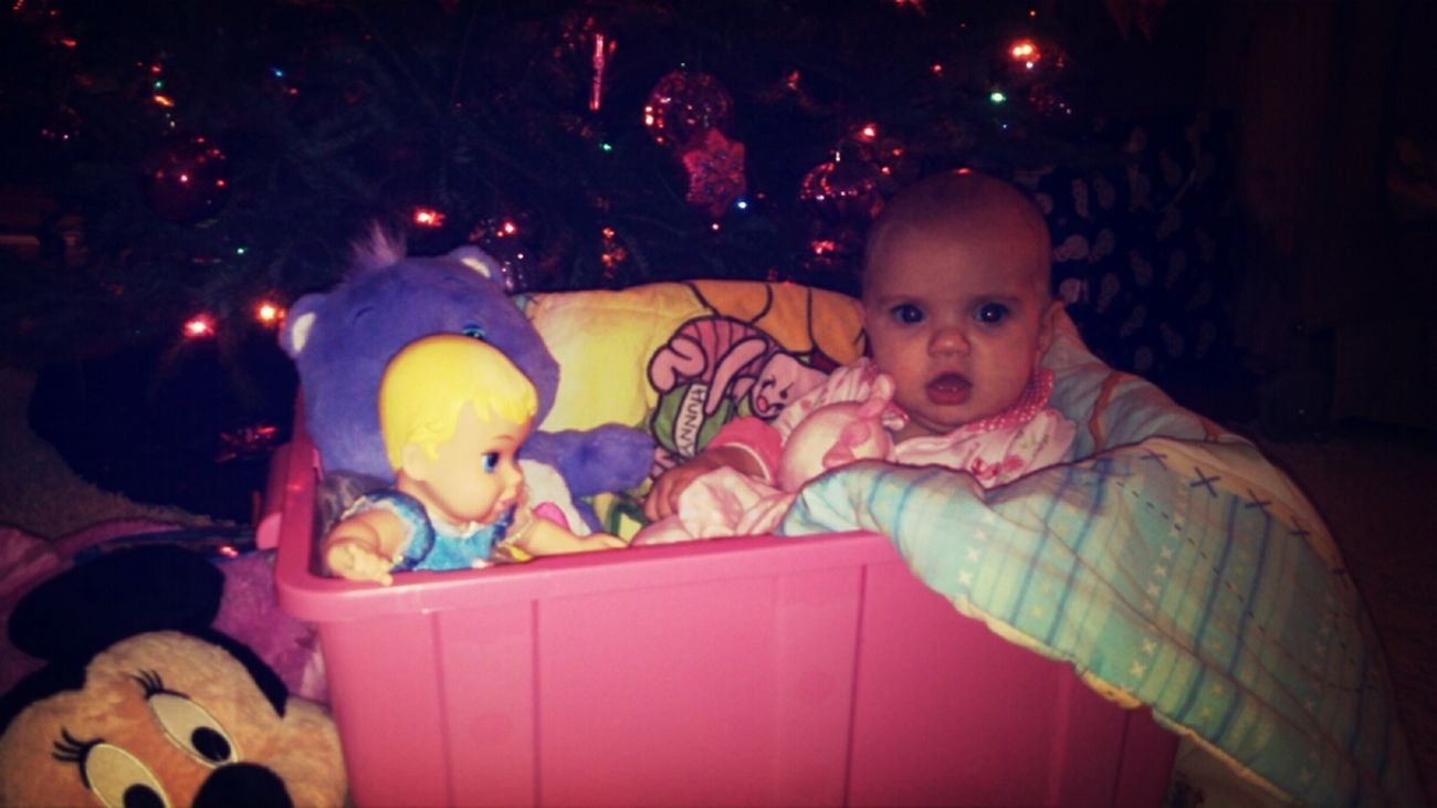 chillin in the toy box