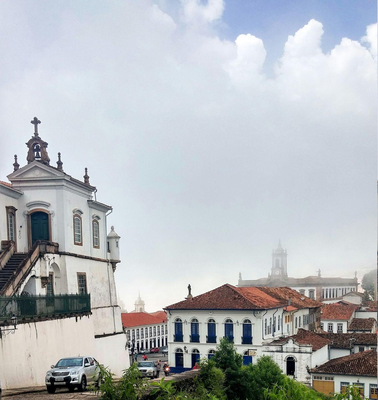 Ouropreto Minasgerais Brazil LG G3 City Landscape Historic City Historical Building Colonial Architecture Architecture