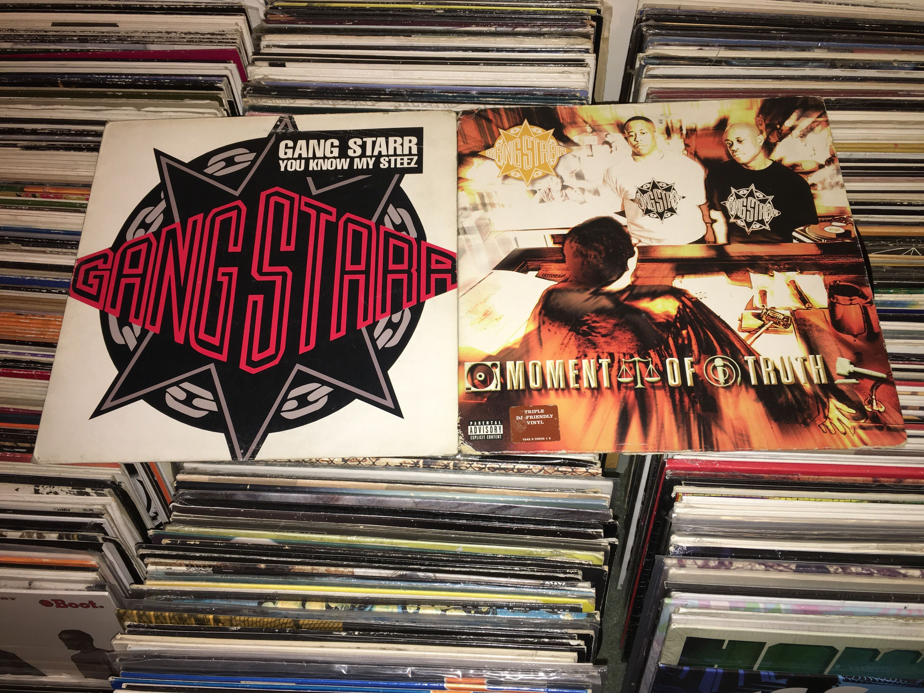 Gangstarr - Moment Of Truth is 17yrs old today 👊 One of my favourite Gangstarr albums Today In Hip-hop Vinyl Record Collection Vinyl Junkie