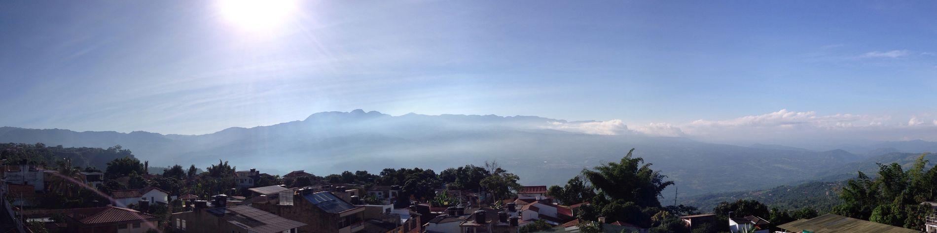 Otra mañana con buen paisaje!
