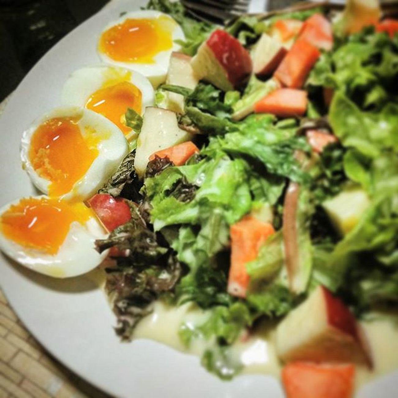 Lava egg salad Dietmenu น้ำสลัดแม่ยาย