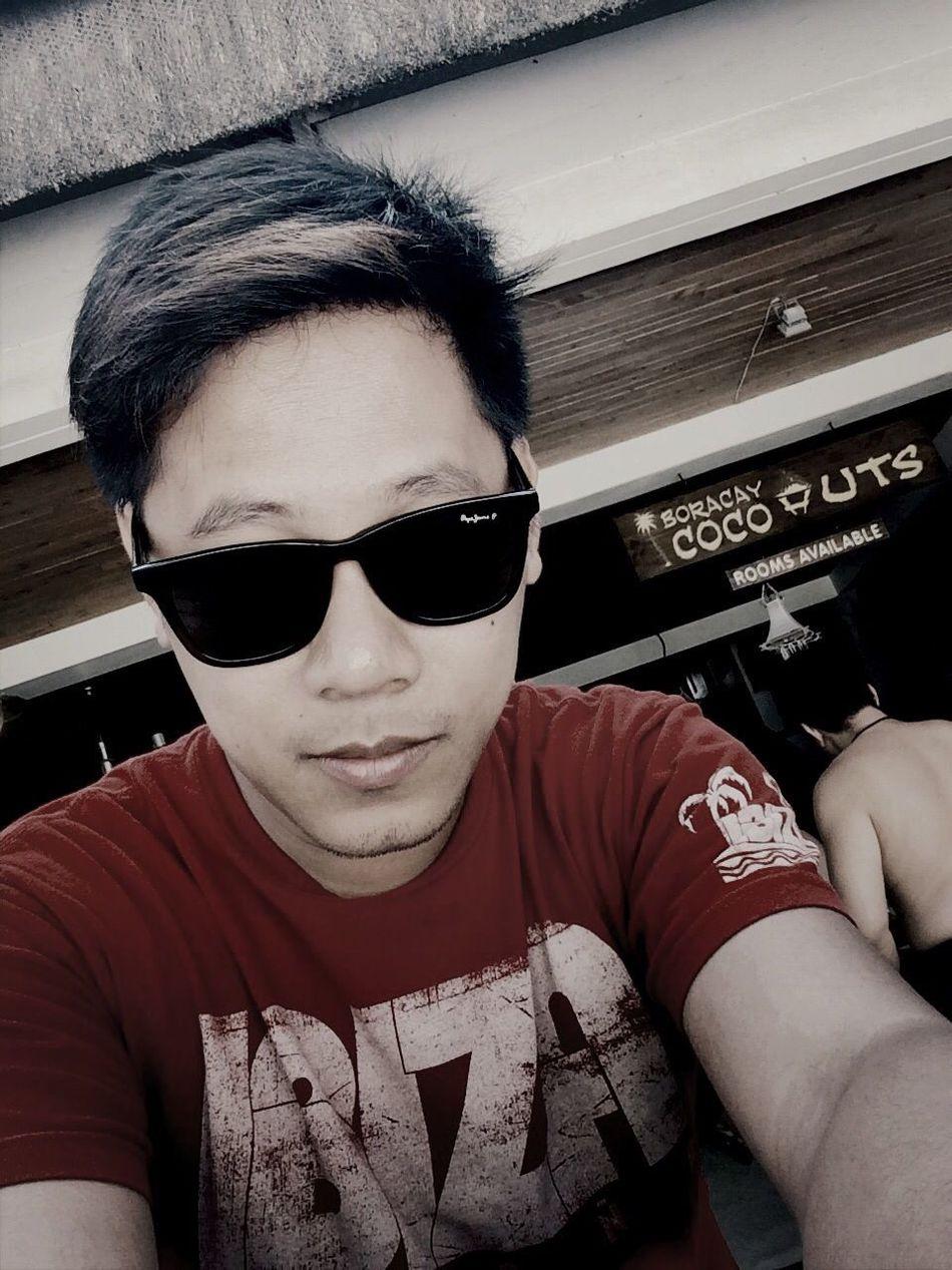 Summer At Boracay Phlippines  Selfie
