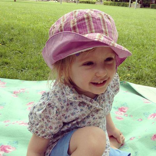 Im Park mit der Familie Parkfest