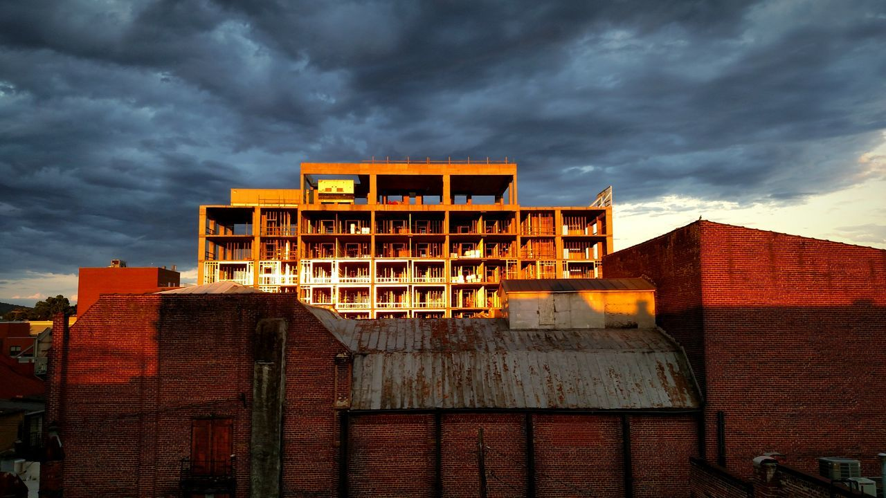 Urbanphotography Cityscapes Charlottesville,VA Downtown Landmark Rooftop Vacant Sunset Sky And Clouds Building Construction View A Bird's Eye View Eyeemphoto EyeEm Best Shots - Architecture