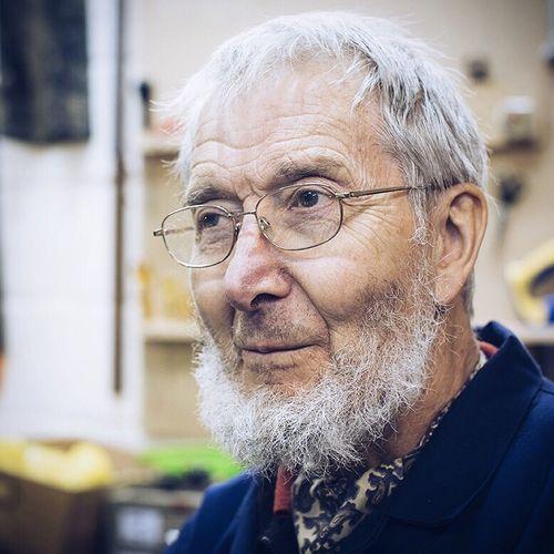 Portrait Color Portrait Woodworker Volunteer
