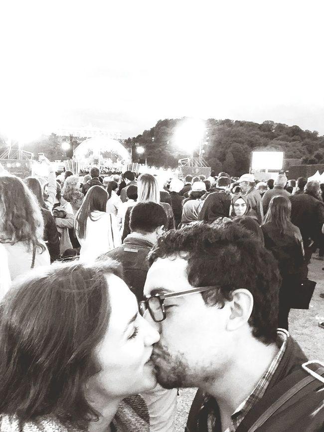 Sommernachtskonzert Vienna Kiss Aboyandagirl Blackandwhite