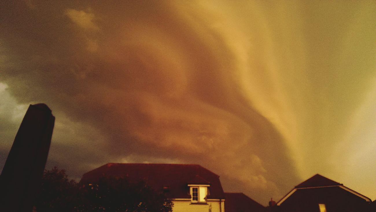 Storm clouds Endoftheworld