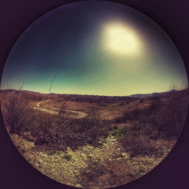 Playing with panoramic Campina Muscel Romania Ig_romania Panorama Landscape Hills Sun Sky Green Mountains Countryside Igersromania Easter