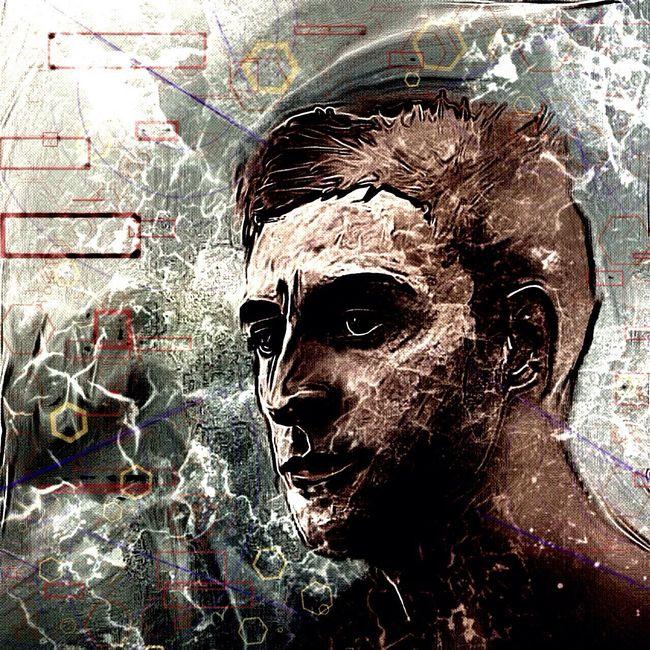 I recount my most dangerous Fear Dark Art Art Color Portrait Digital Art