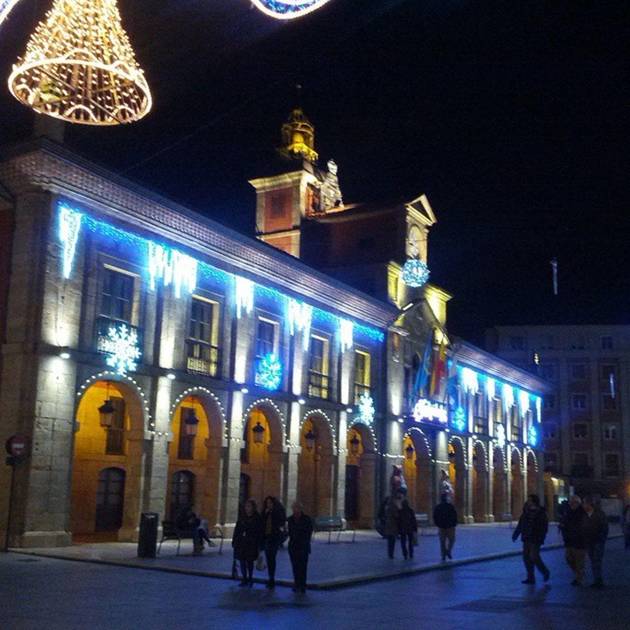Happy Christmas Frohe Weihnachten Avilés Asturias FelizNochebuena