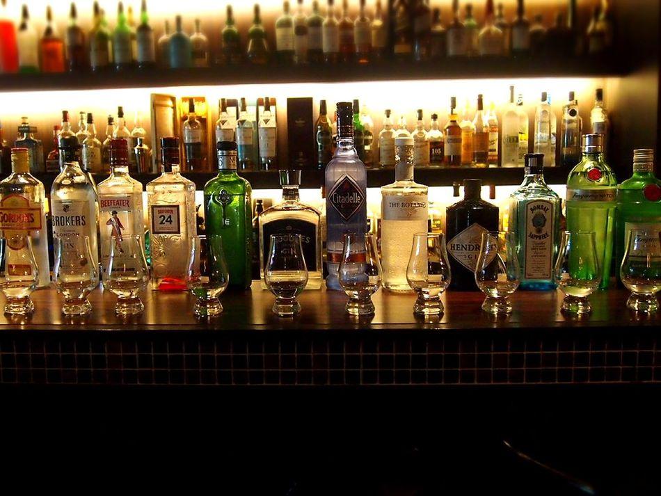 Gin Party Drinks Mixology Bar GIN Korea
