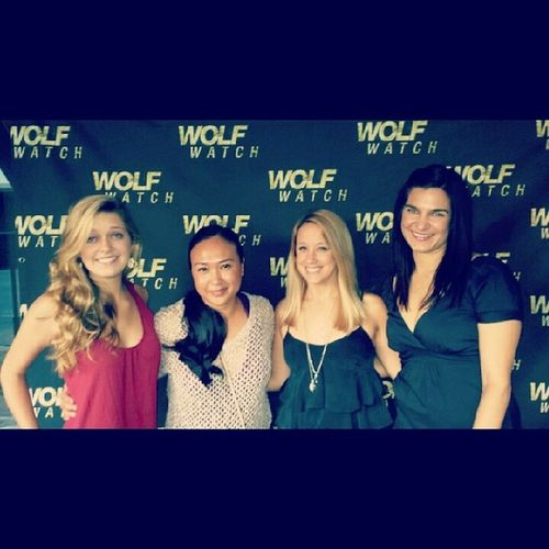 Wolf Watch Launch Party @courtneylizabeth @wood.jessica Louise