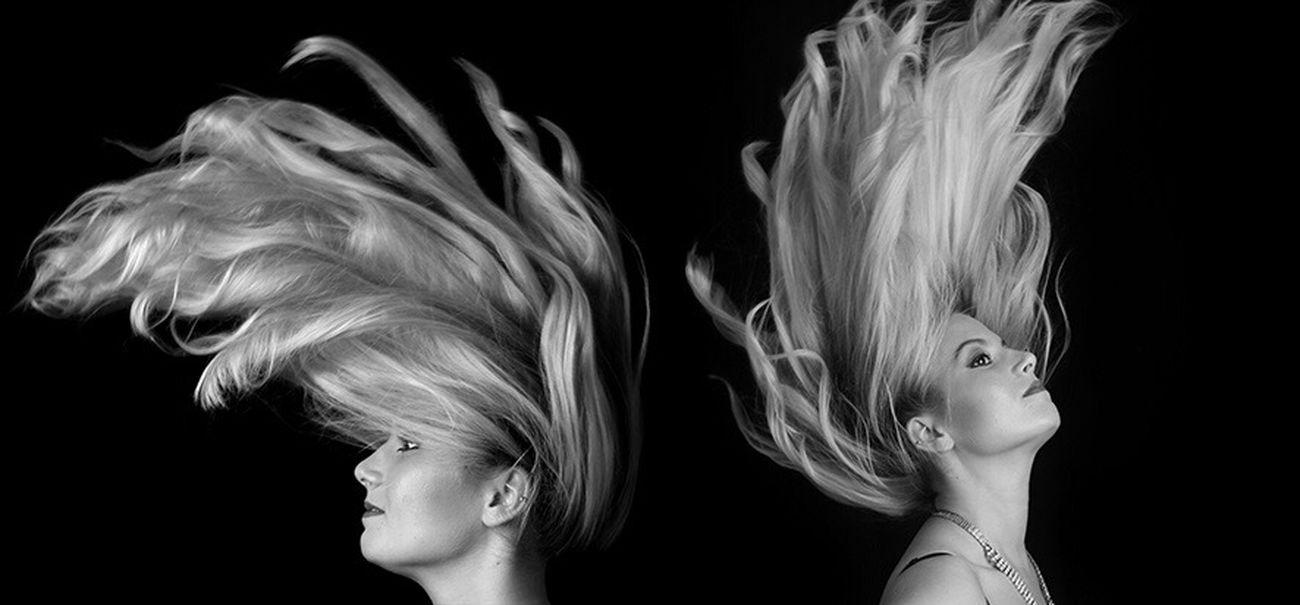 Hair Creative Photography Fashion Photography Multiple Image Monochrome Photography Studio Shot Movement creative Portrait Creative Photographer Creative Portrait