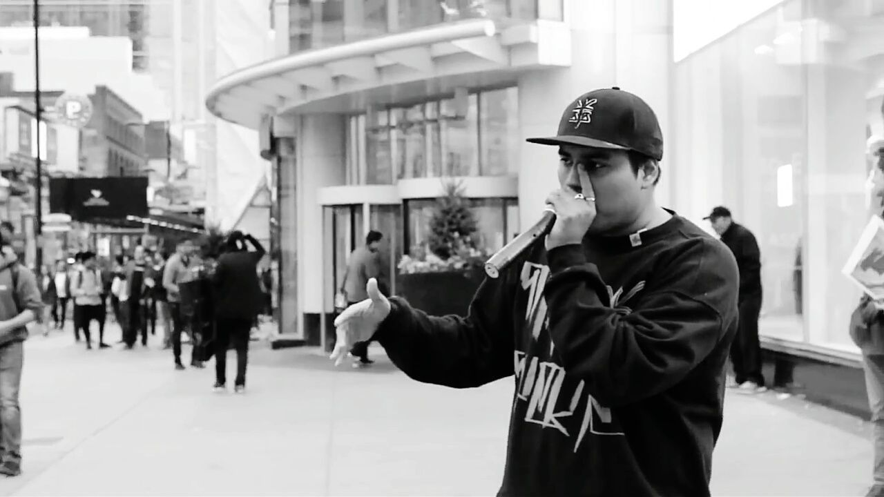 Beatboxer Performer Beatbox Beatboxing SantaSuerte Toronto Canada Square Show Street Street First Eyeem Photo