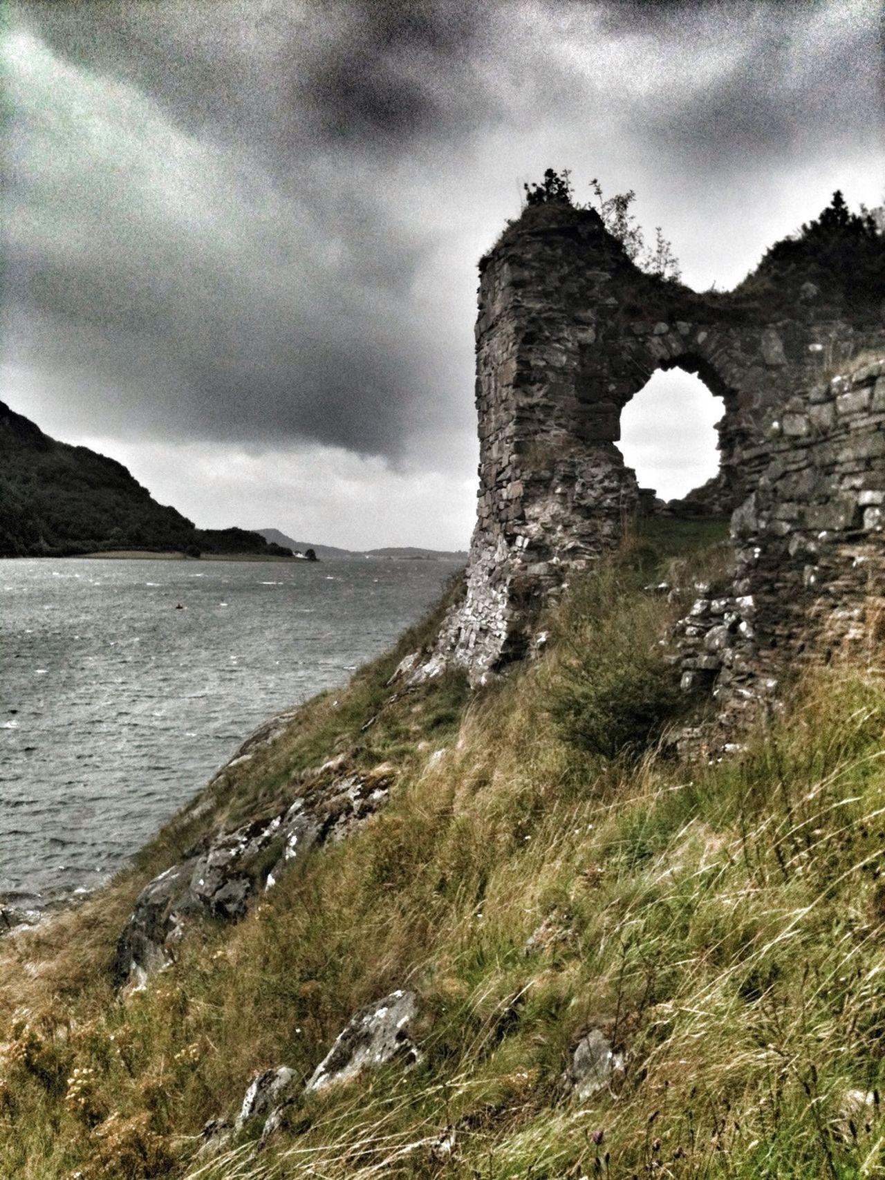 Strome castle, Highlands of Scotland