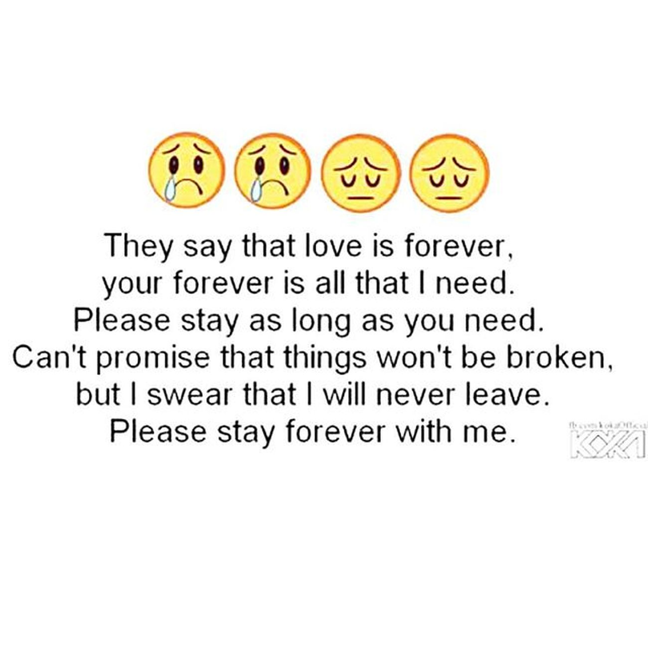 Pleasestay Staywithmeforever :(