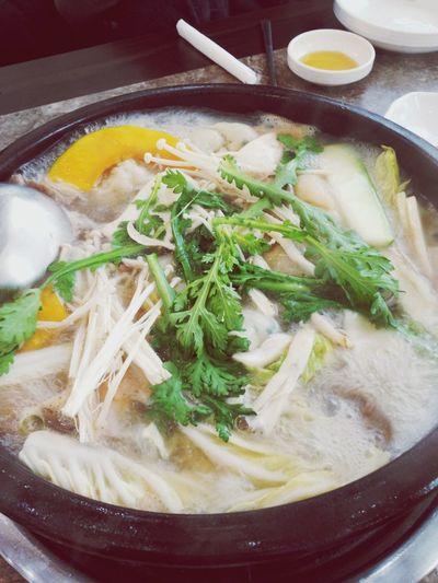 점심만찬' 만두전골, food