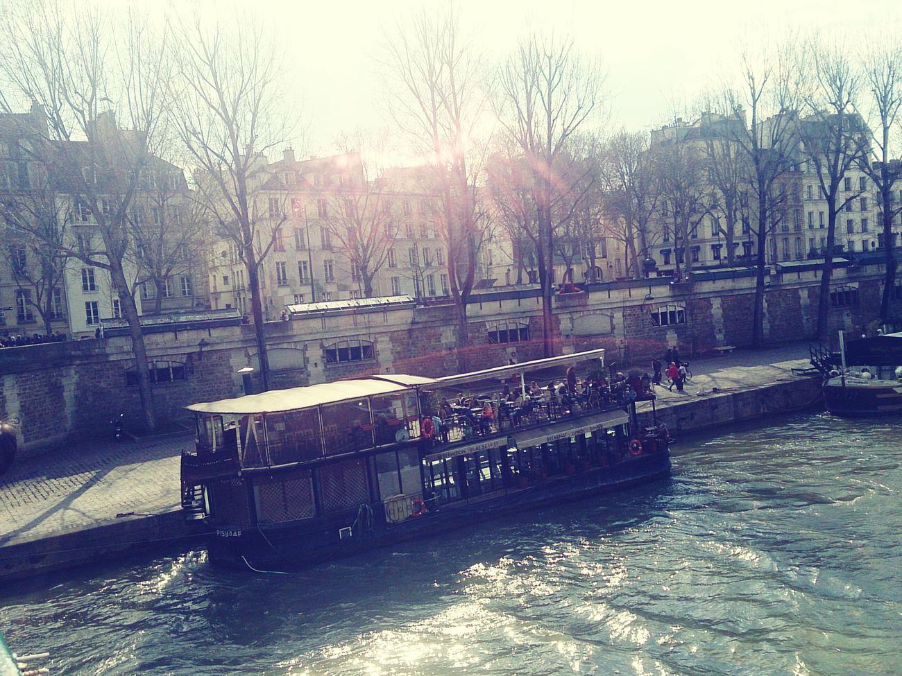 Paris ❤ La Seine Bateau ❤️ Sunshine Love ♥