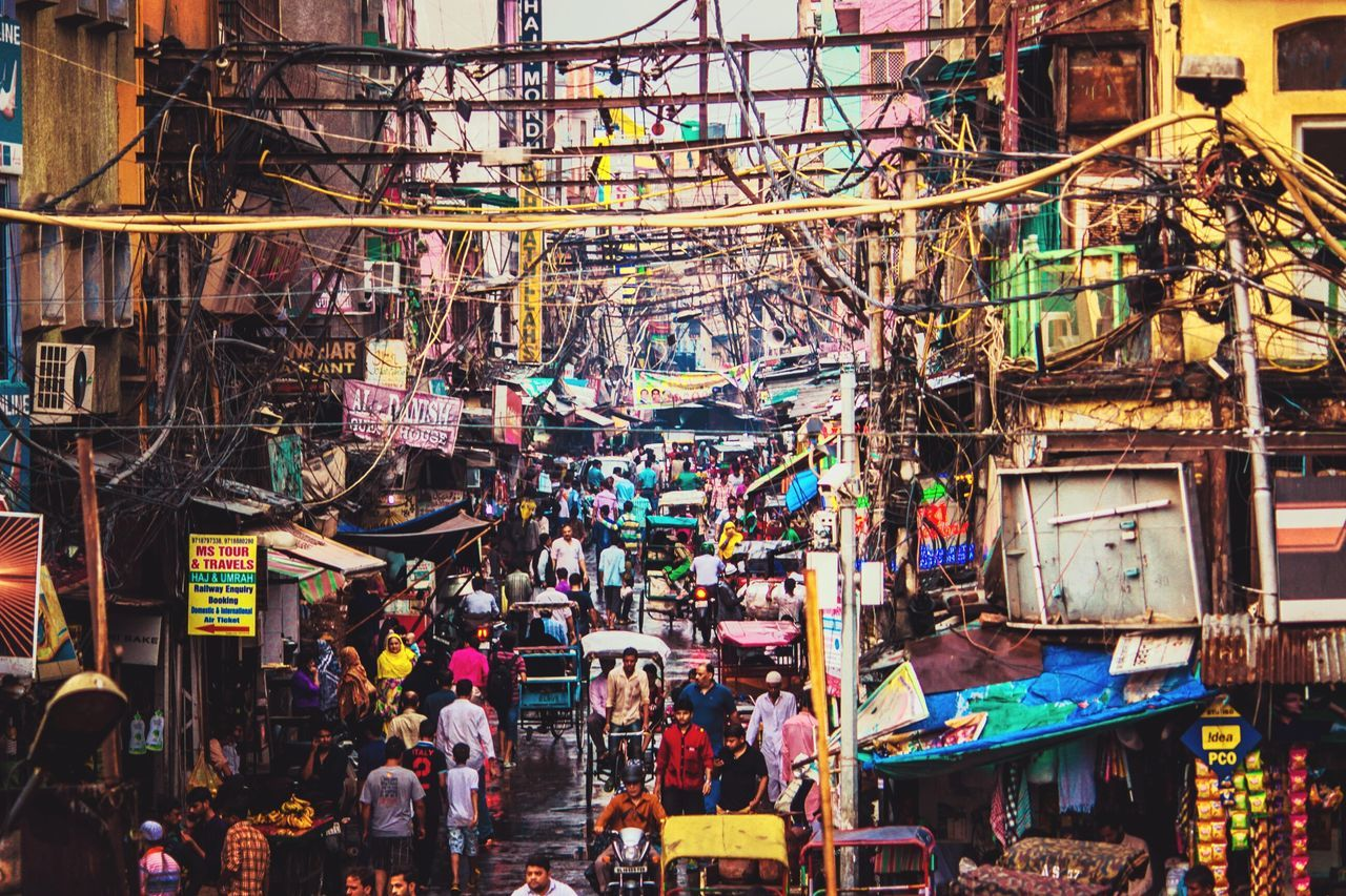 Street Photography Busy Street Life In Motion Lifeontheroad Illuminated People Outdoors City Crowded Street Chandinichowk India Canon700D The Chandini chowk is one of the oldest and busiest markets in Old Delhi, India. The City Light The City Light The Street Photographer - 2017 EyeEm Awards