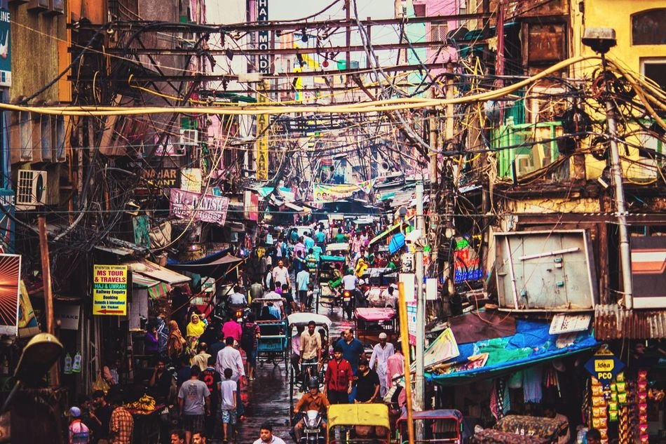 Street Photography Busy Street Life In Motion Lifeontheroad Illuminated People Outdoors City Crowded Street Chandinichowk India Canon700D The Chandini chowk is one of the oldest and busiest markets in Old Delhi, India. The City Light The City Light