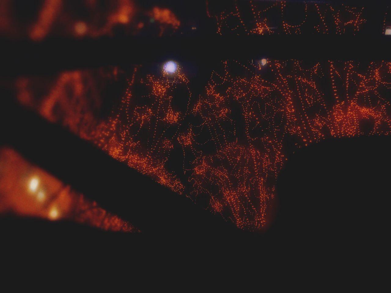 ランドローバーのステアリング越しのイルミネーション。(きちんと停まっての撮影ですよ😅) Red Night Hello World December Tree Art Street Illuminated Illumination The Pageant Of Light Miyagi Sendai Car Window Electric Landrover  Landrover Defender Land Rover Series LAND ROVER SERIES 2 Land Rover