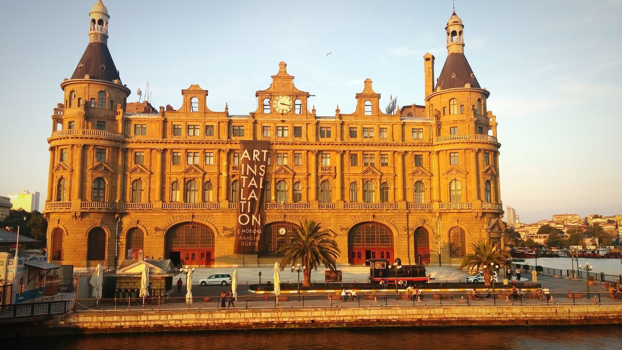 Historical Building Railhead Haydarpasa Train Station Nature Landscape Cityscapes Sea EyeEm Best Shots Bestoftheday History