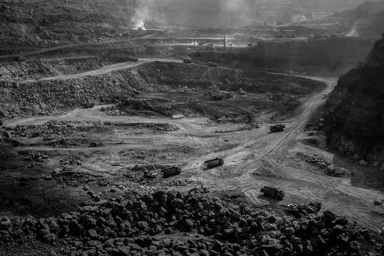 Coalmine Coal Mine of Jharkhand India