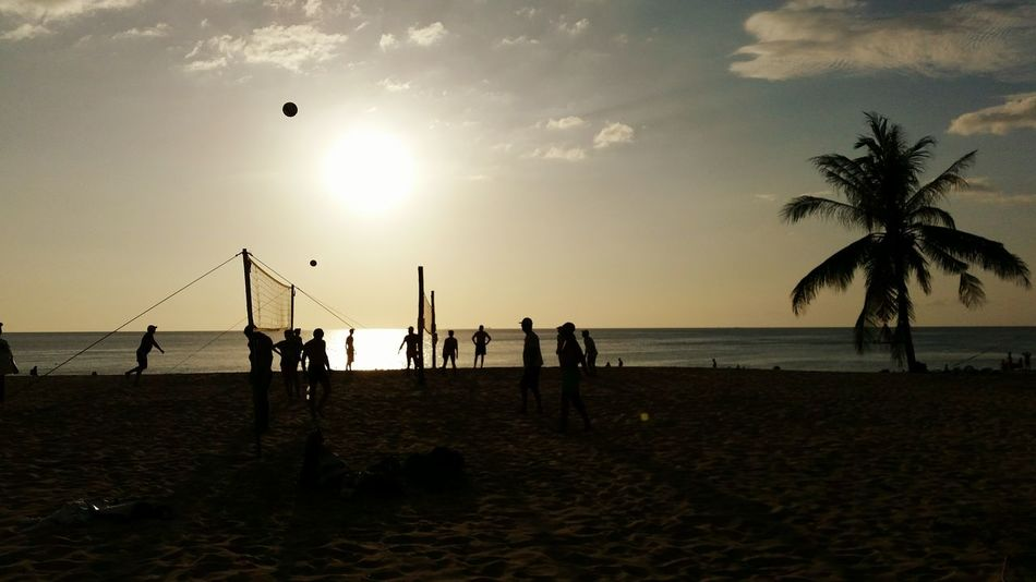 Beautiful stock photos of strand, Beach, Beach Volleyball, Beauty In Nature, Competition