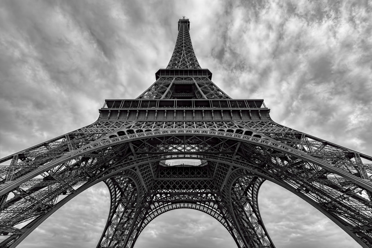 Beautiful stock photos of eiffel tower, Arch, Architectural Feature, Architecture, Built Structure