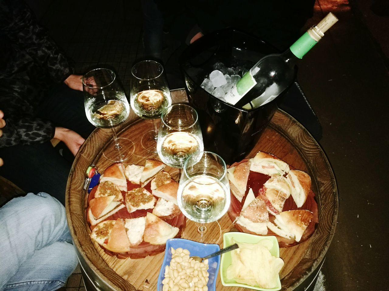 Friend High Angle View Food Food And Drink People Ready-to-eat Love ♥ Pantelleria Table WOW Friends ❤ Real People Wine Wine Moments Wineglass