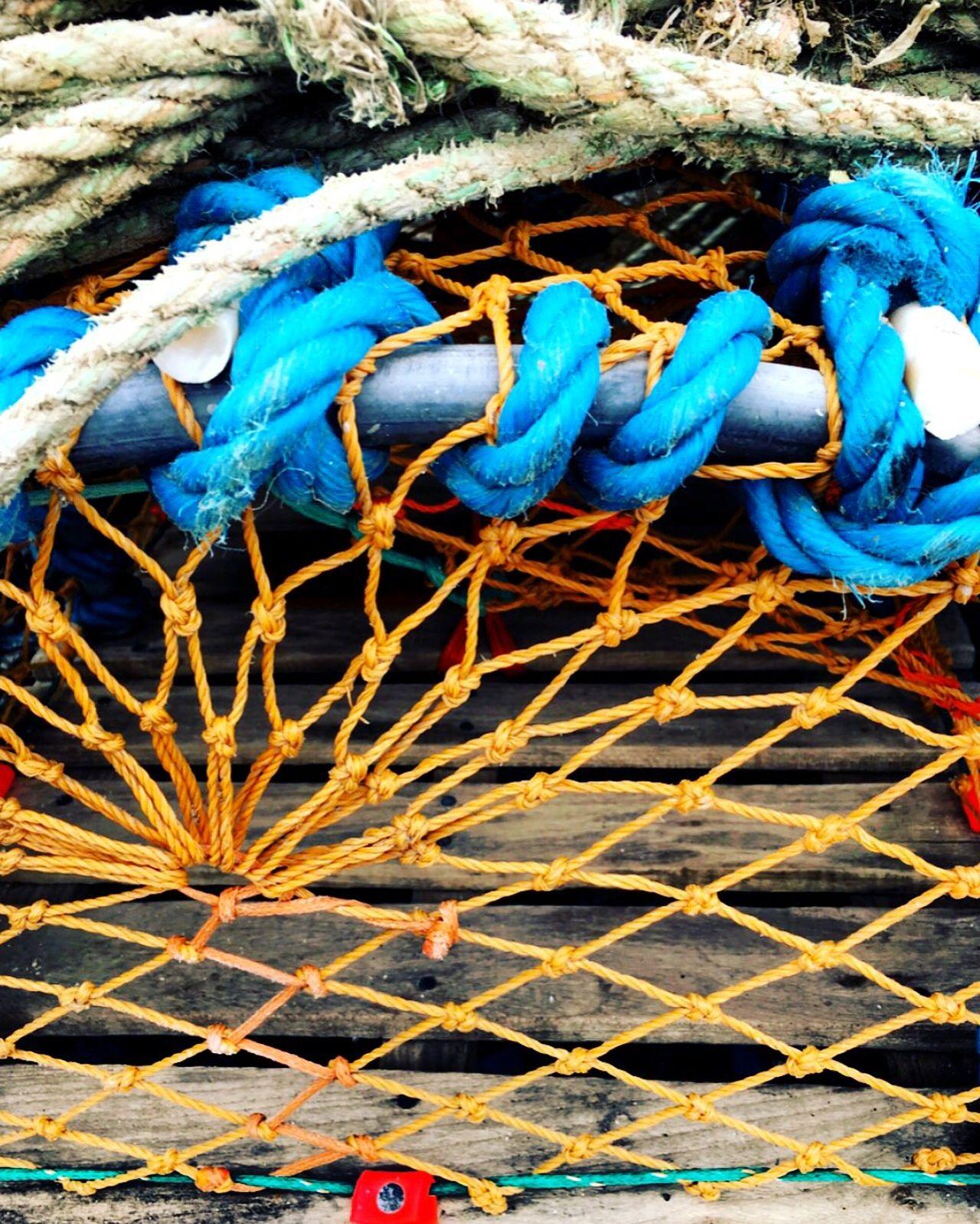 Fischernetz Schottland
