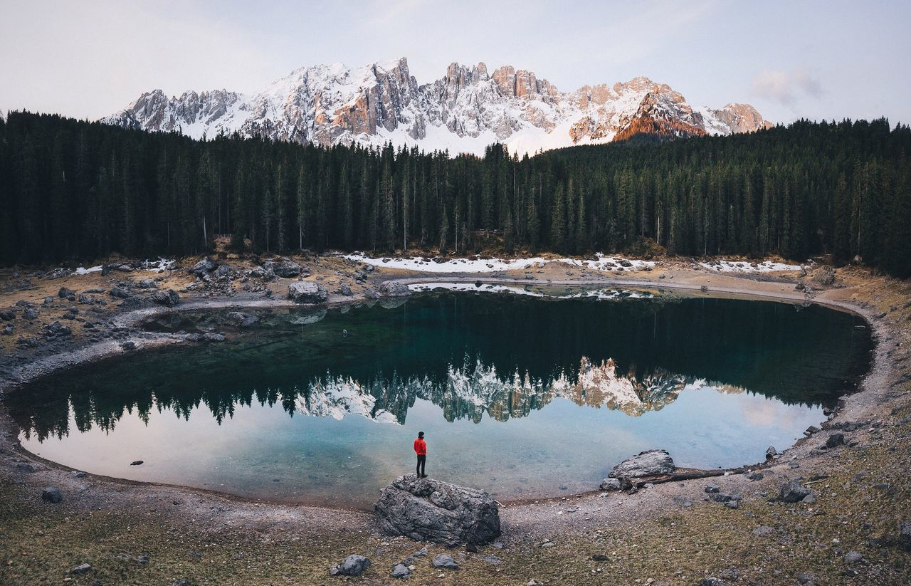 Lago Di Carezza Spring Roadtrip Explore Folk Vscocam Forest Rural Travel Mountain Range Landscape Remote VSCO Vacations Beauty In Nature EyeEm Best Shots Mountain Nature Outdoors Dolomites, Italy Italy Sunrise The Great Outdoors - 2016 EyeEm Awards