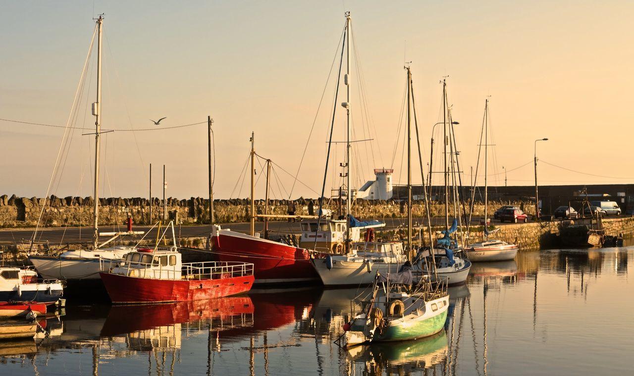 Beautiful stock photos of dublin, , Built Structure, Fishing Boat, Harbor